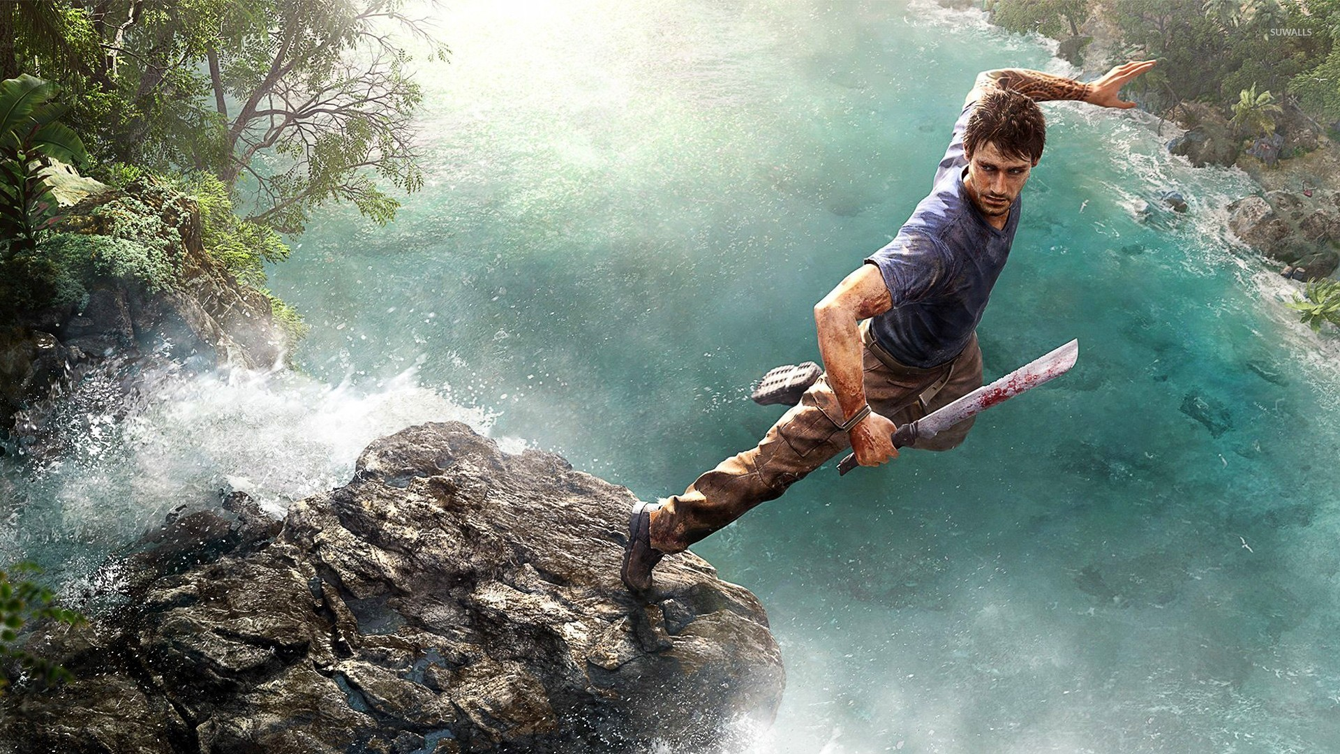 Jason Brody Far Cry 3 3 Wallpaper Game Wallpapers 19978