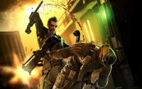 Adam Jensen - Deus Ex: Human Revolution [6] wallpaper 2560x1600 jpg