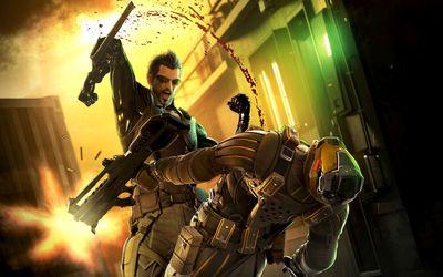 Adam Jensen - Deus Ex: Human Revolution [6] wallpaper