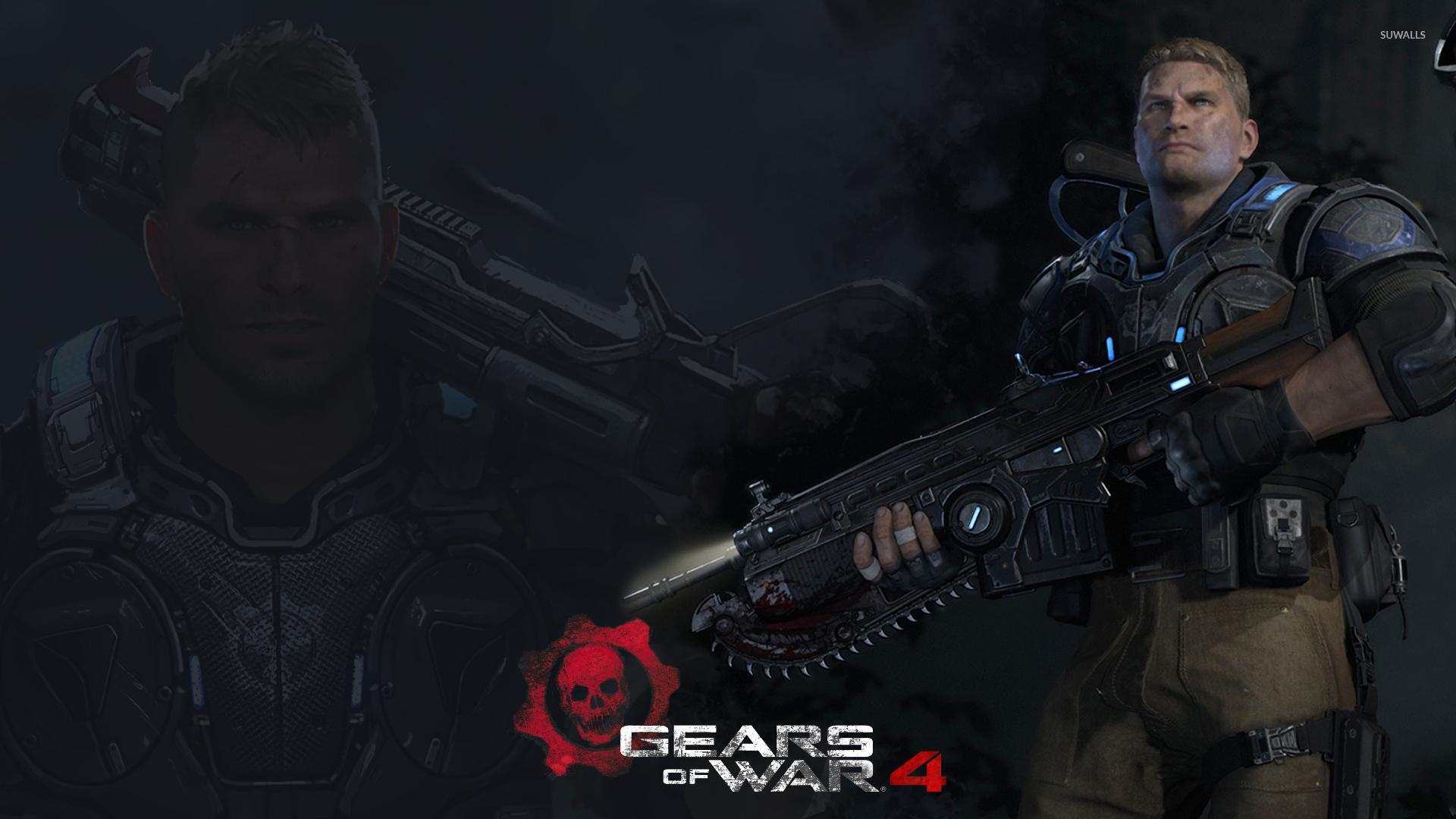 Jd In Gears Of War 4 Wallpaper Game Wallpapers 52881