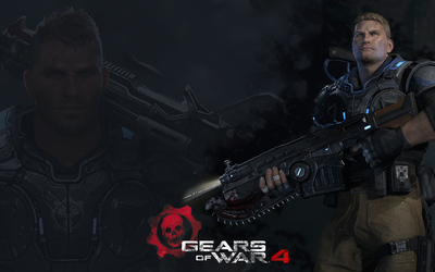 JD in Gears of War 4 wallpaper