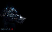 JD in the shadows in Gears of War 4 wallpaper 1920x1200 jpg