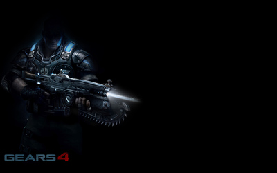 JD in the shadows in Gears of War 4 wallpaper