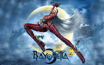 Jeanne in Bayonetta 2 wallpaper