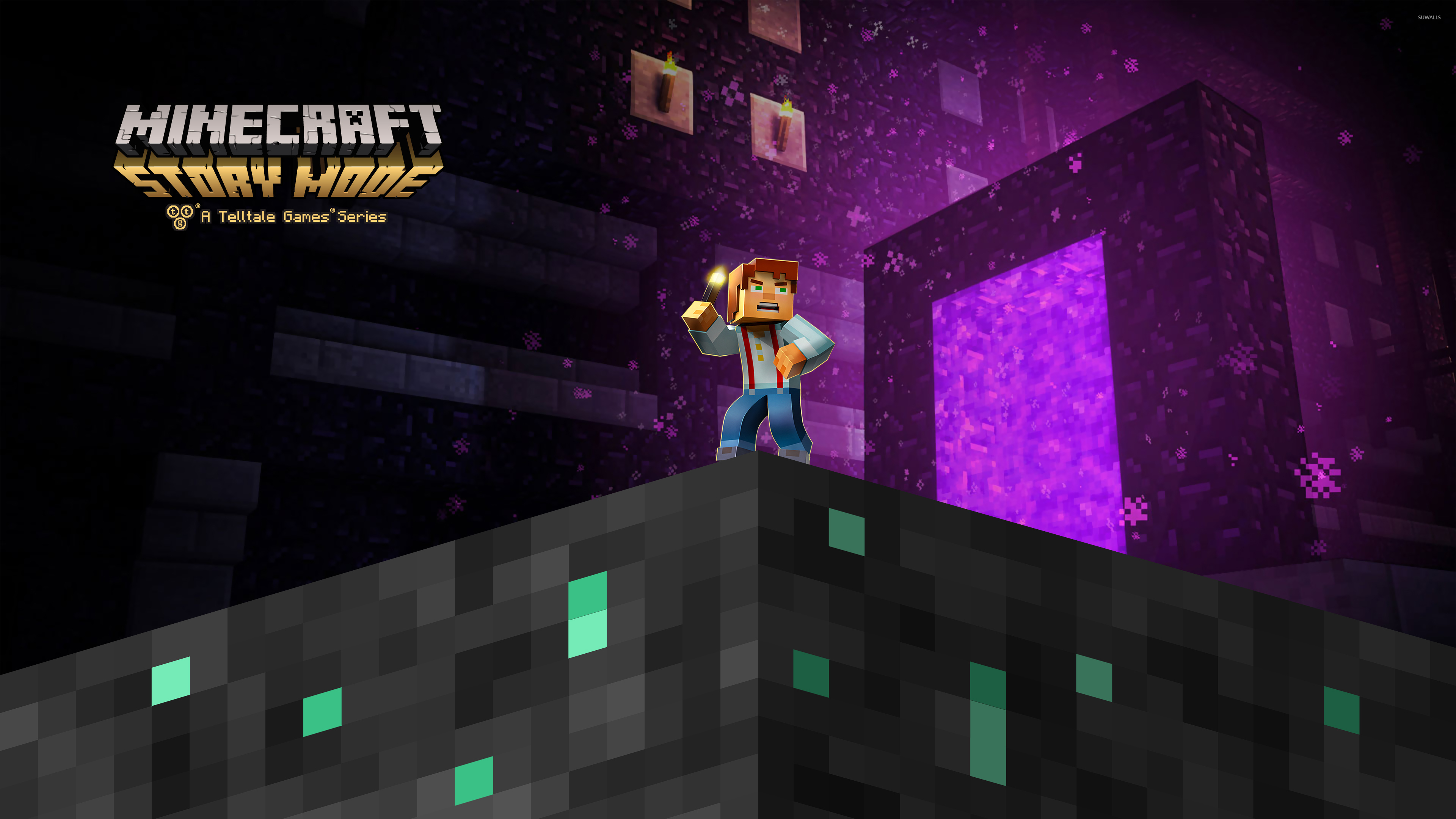 Jesse In Minecraft Story Mode Wallpaper Game Wallpapers 49948