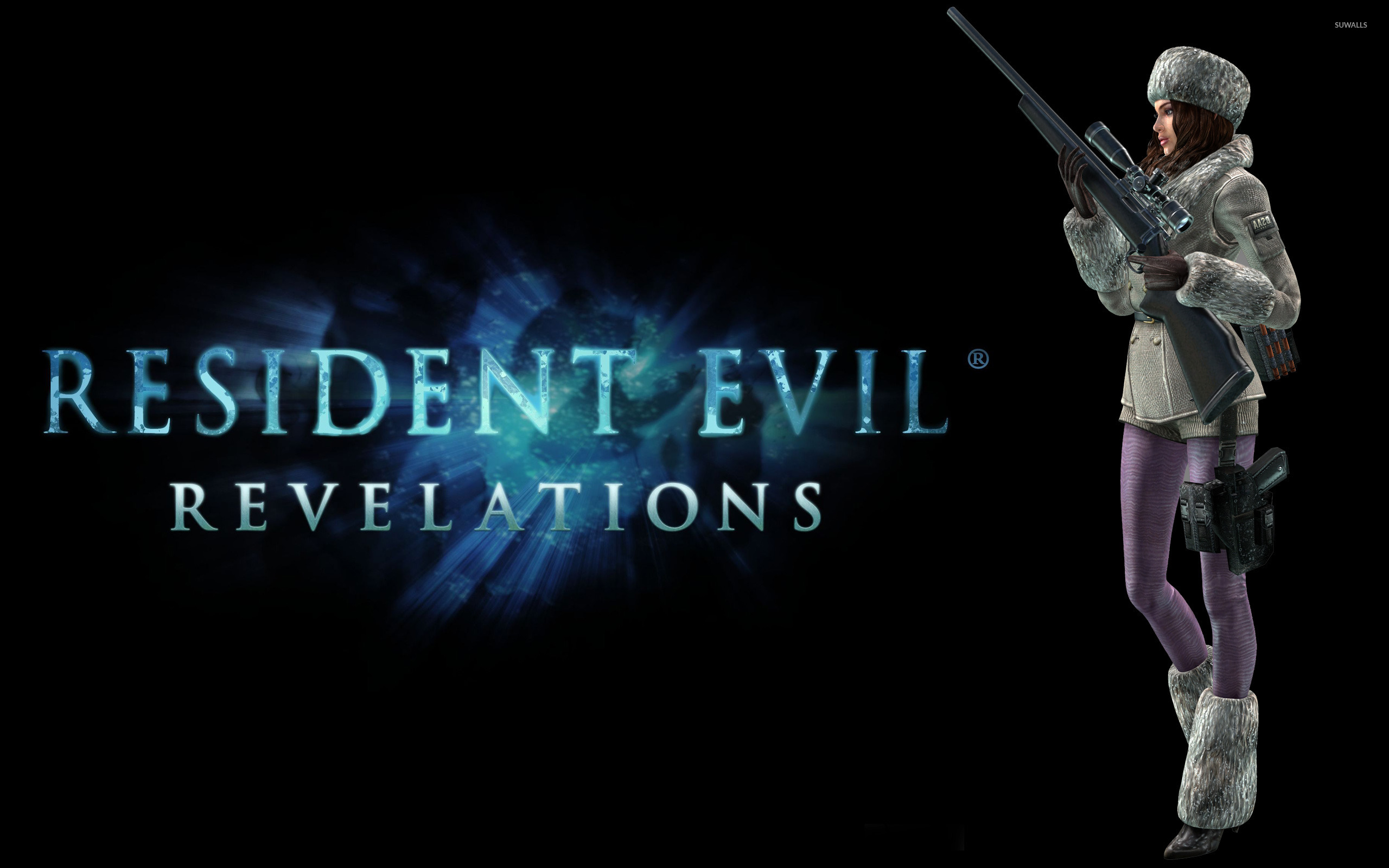 Jessica Sherawat Resident Evil Revelations Wallpaper