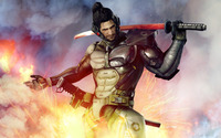 Jetstream Sam - Metal Gear Rising: Revengeance wallpaper 1920x1200 jpg