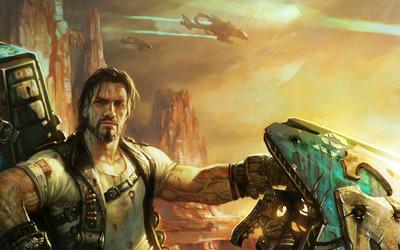 Jim Raynor - Starcraft 2 wallpaper
