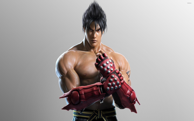 Jin Kazama With Red Gloves Tekken Wallpaper Game Wallpapers