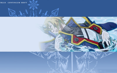 Jin Kisaragi - BlazBlue: Continuum Shift wallpaper