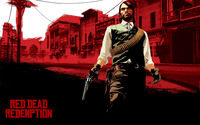 John Marston - Red Dead Redemption [2] wallpaper 2560x1600 jpg