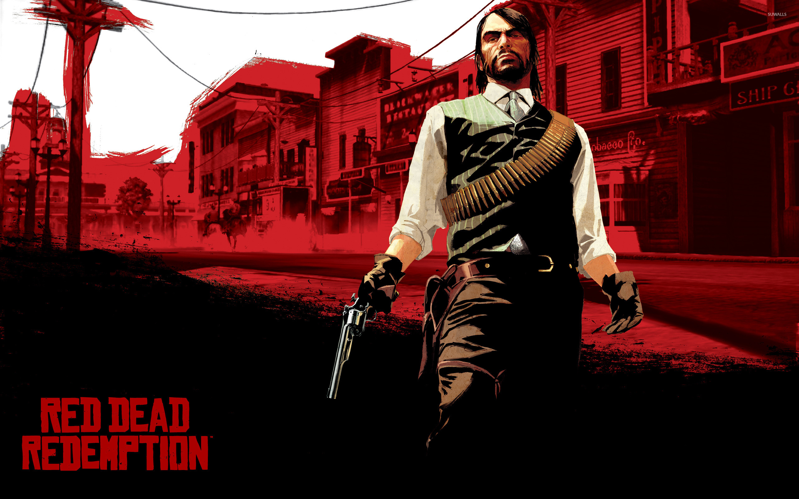 John Marston - Red Dead Redemption [2] wallpaper - Game