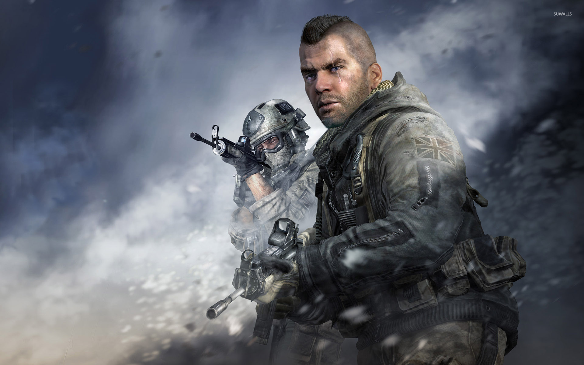 John Soap Mactavish Call Of Duty Modern Warfare 2