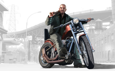 Johnny  - Grand Theft Auto IV: The Lost and Damned wallpaper