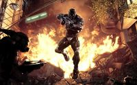 Jumping Prophet - Crysis wallpaper 1920x1200 jpg