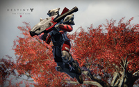 Jumping warrior in Destiny: The Taken King wallpaper 2880x1800 jpg