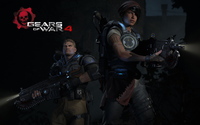 Kait and JD in Gears of War 4 wallpaper 1920x1200 jpg