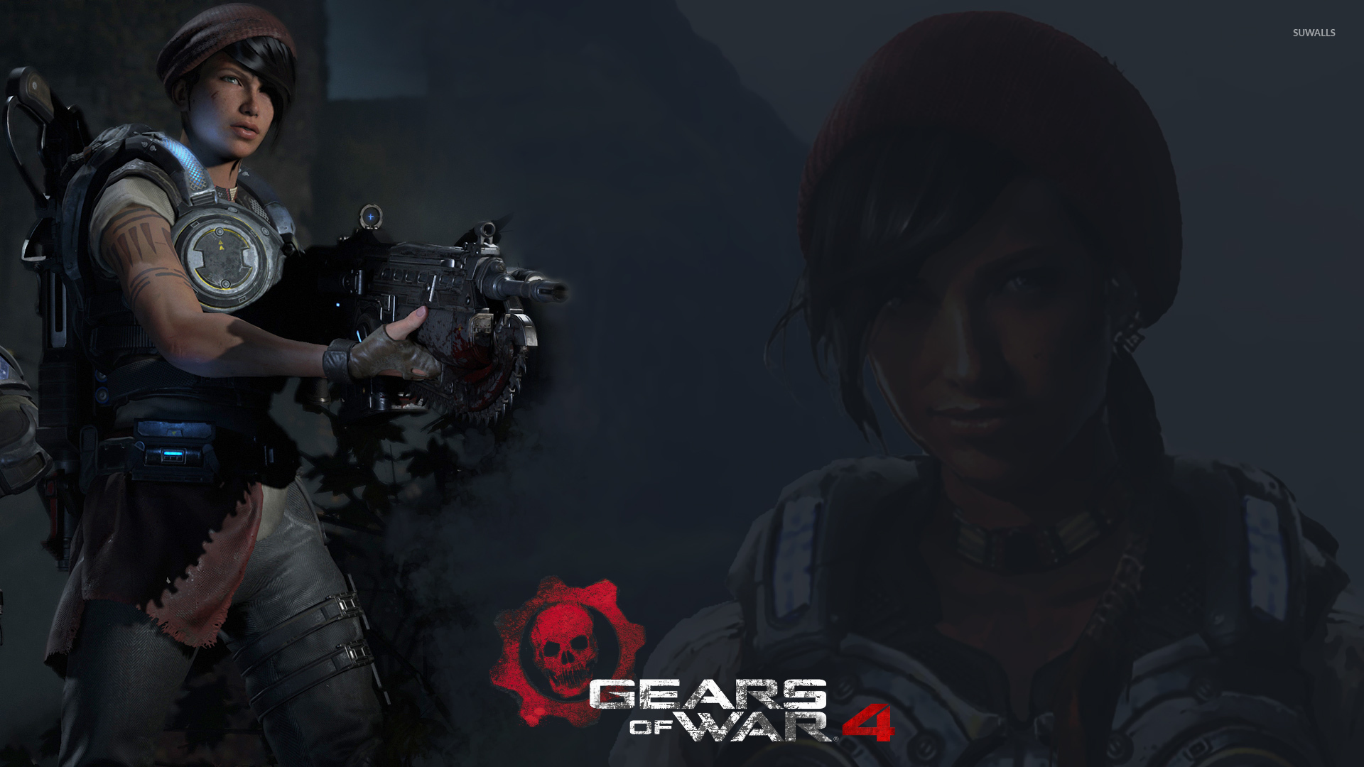 Kait In Gears Of War 4 Wallpaper Game Wallpapers 53098
