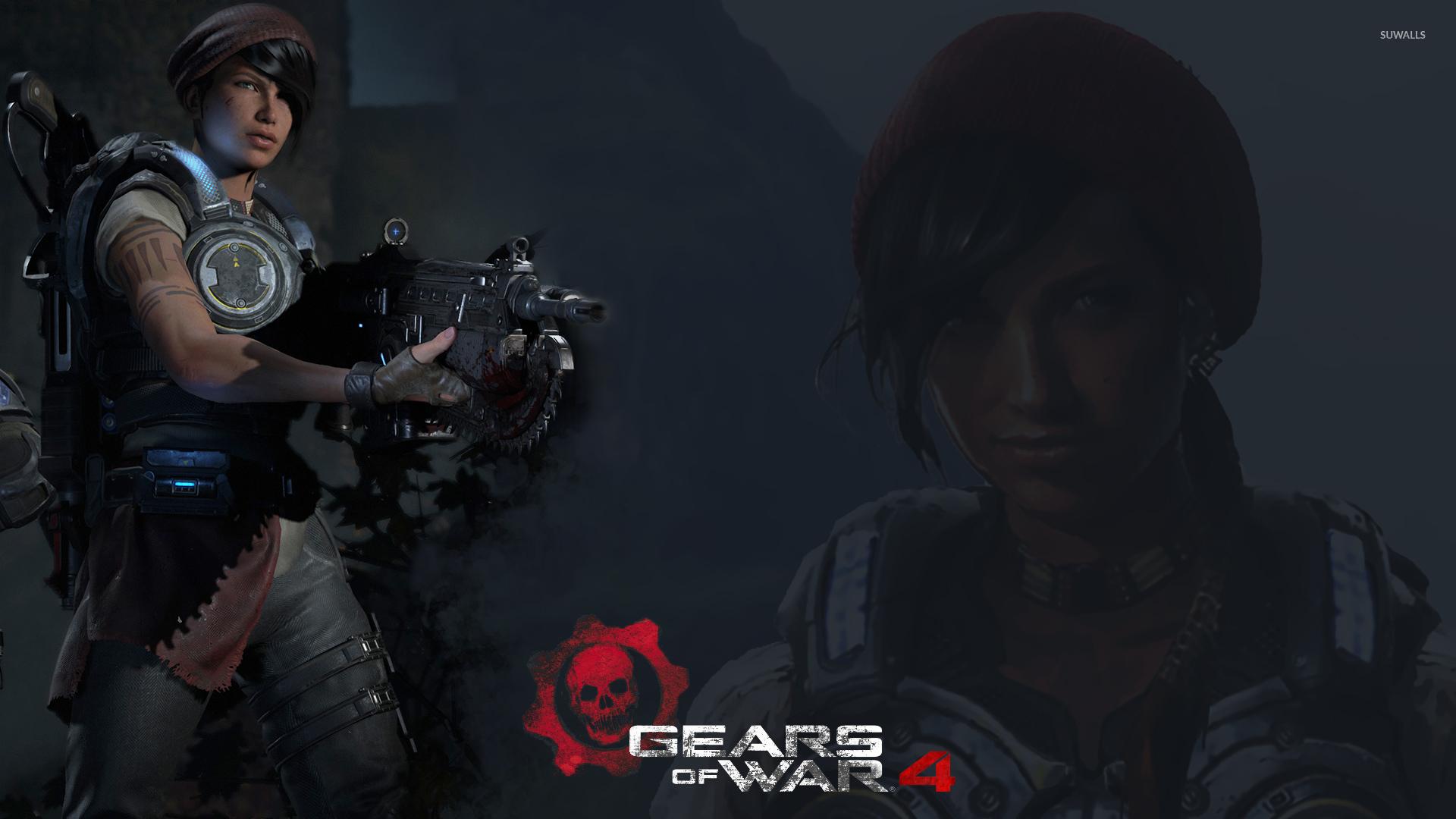 Kait in Gears of War 4 wallpaper - Game ...