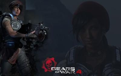 Kait in Gears of War 4 wallpaper