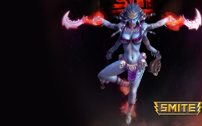 Kali - Smite wallpaper