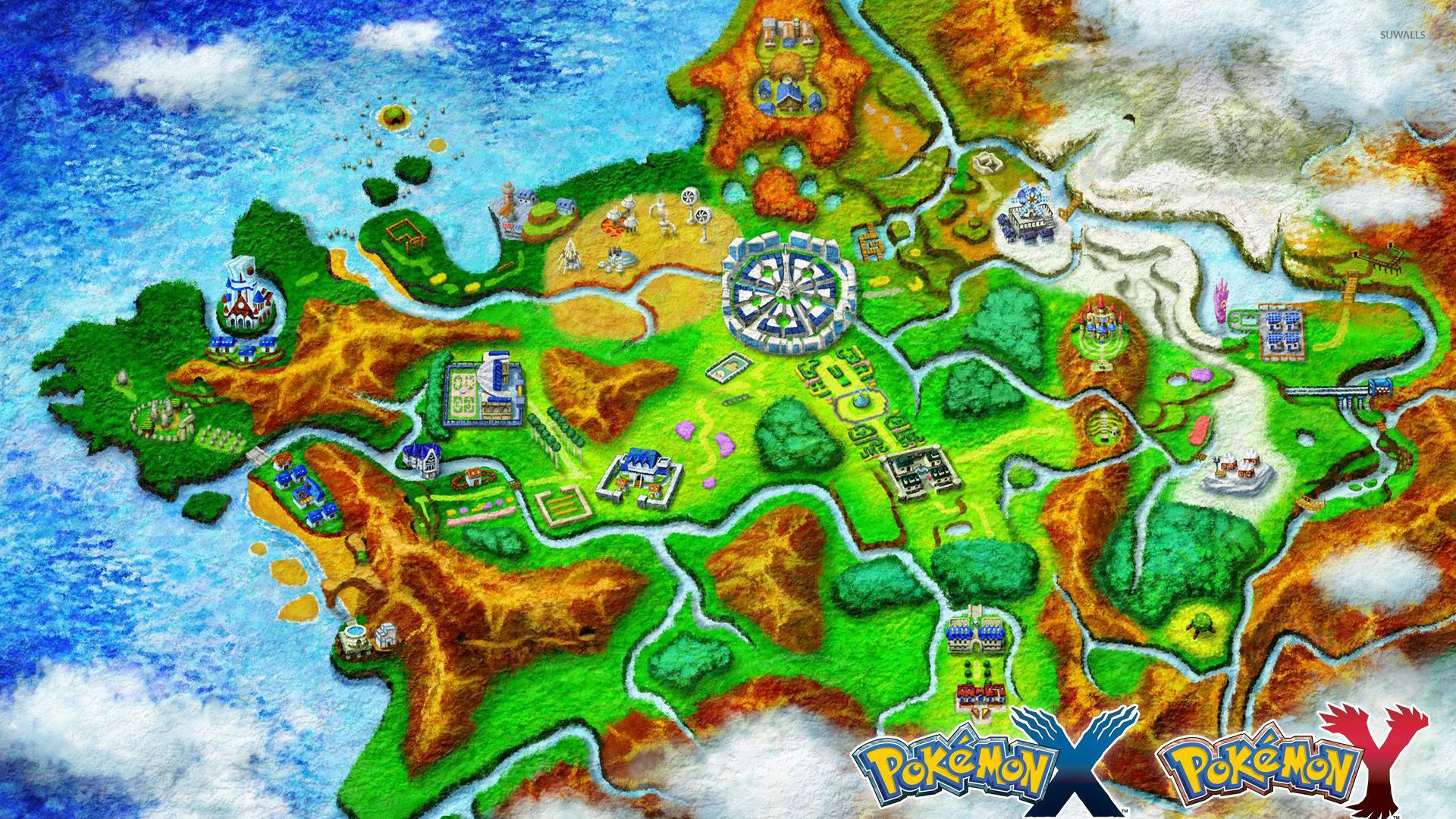 Kalos Pokemon Wallpaper Game Wallpapers 41451
