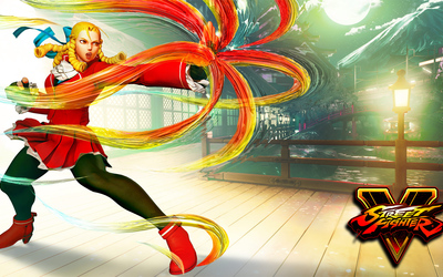Karin in Street Fighter V wallpaper