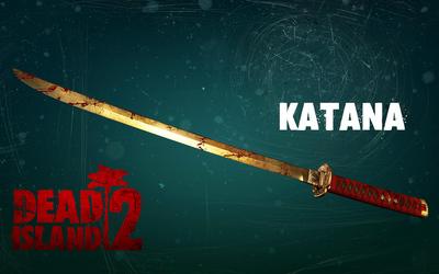 Katana in Dead Island 2 wallpaper