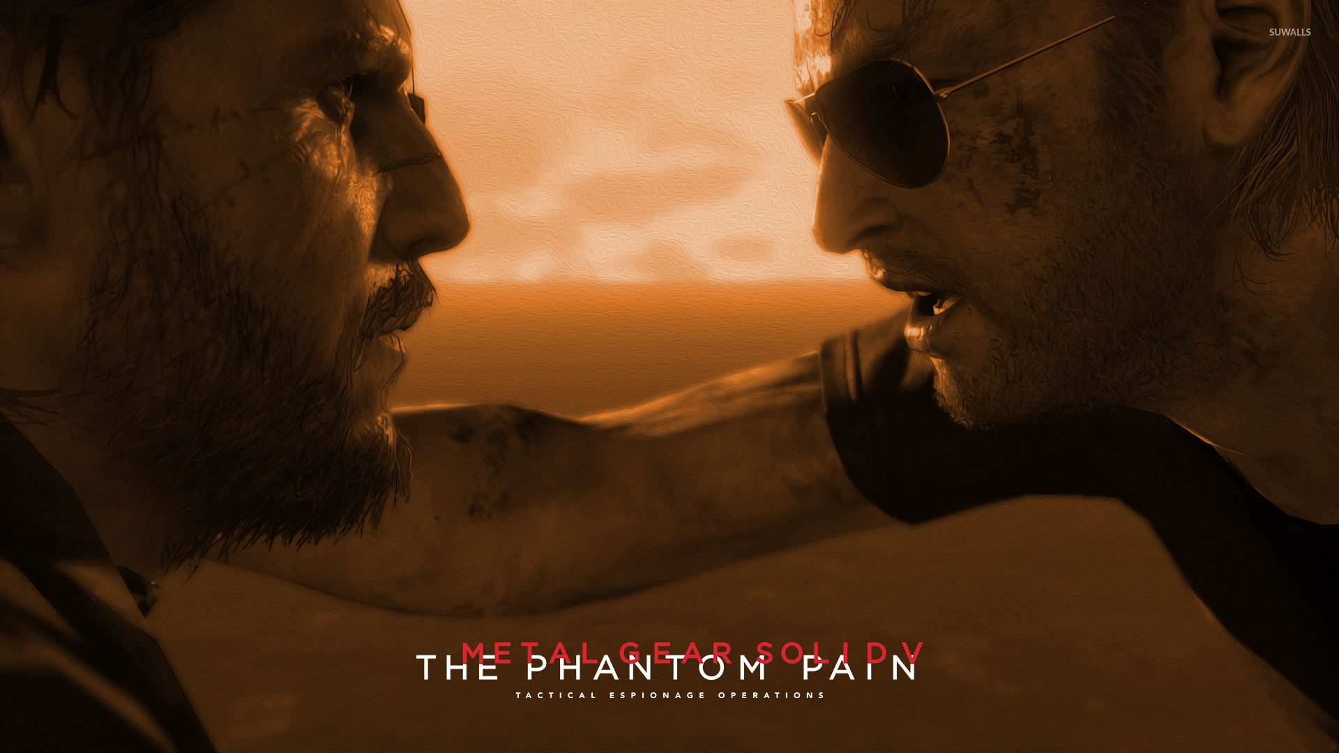 Kaz And Snake Metal Gear Solid V The Phantom Pain Wallpaper Game Wallpapers 49409 Born to a american allied officer and a japanese prostitute, miller was born and raised in japan by his mother as his father returned to the untied states. kaz and snake metal gear solid v the