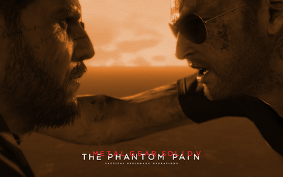 Kaz and Snake - Metal Gear Solid V: The Phantom Pain wallpaper