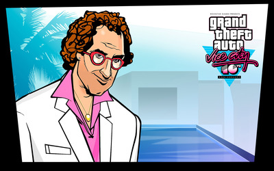 Ken Rosenberg at Vice City 10th Anniversary wallpaper