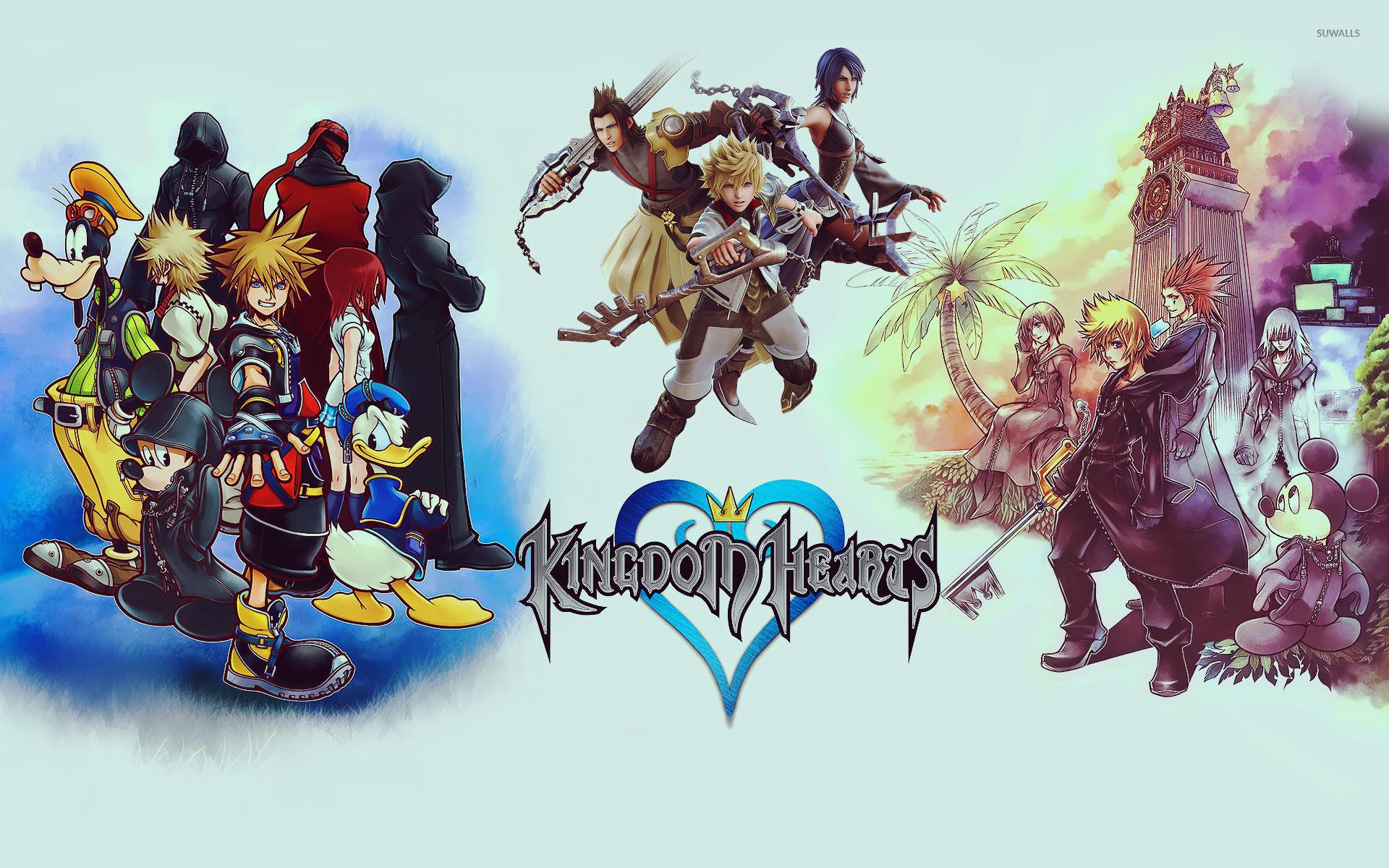 Kingdom Hearts [3] wallpaper