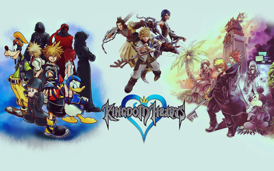 Kingdom Hearts [3] wallpaper