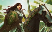 Knight Exemplar - Magic: The Gathering wallpaper 2560x1440 jpg