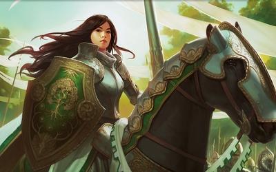 Knight Exemplar - Magic: The Gathering wallpaper