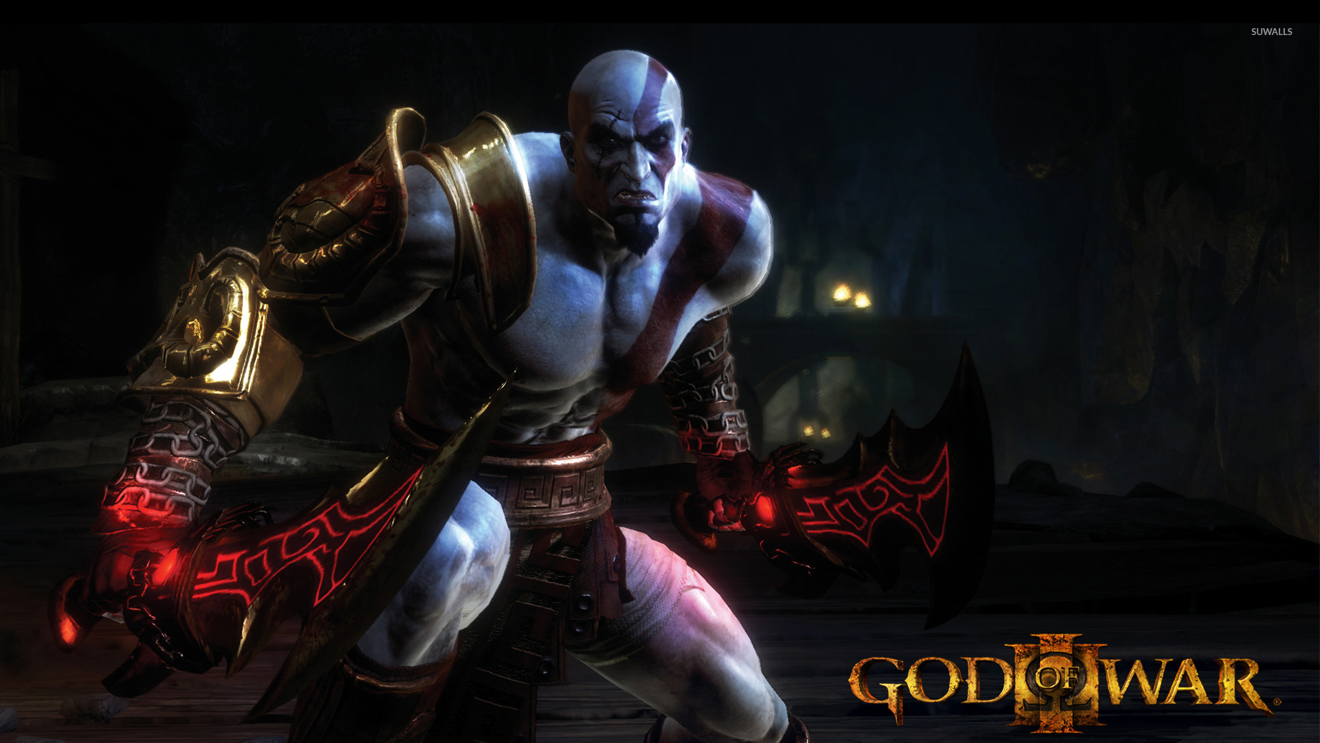 Kratos God Of War 3 2 Wallpaper Game Wallpapers 18950