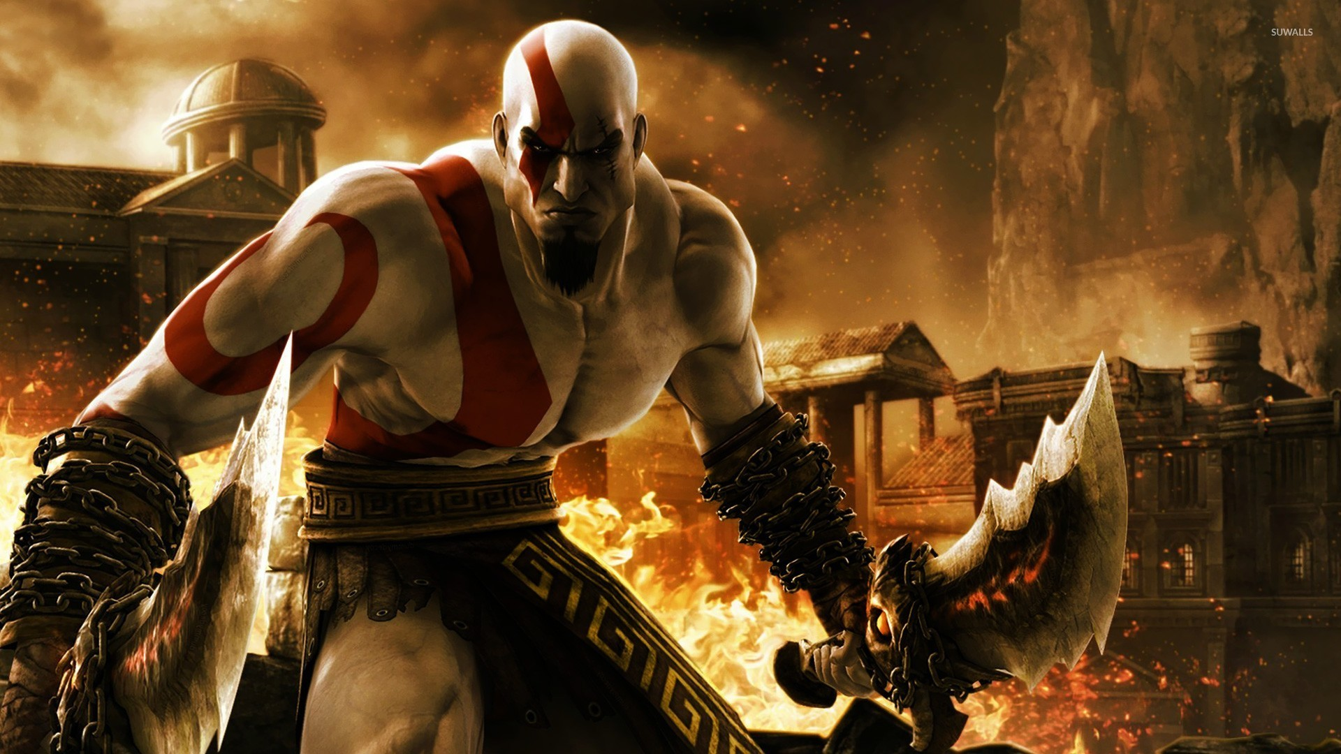 God Of War Battle Wallpaper Game Wallpapers 54523
