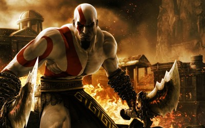 Kratos - God of War 3 wallpaper