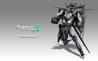 Lailah Skell - Xenoblade Chronicles X wallpaper