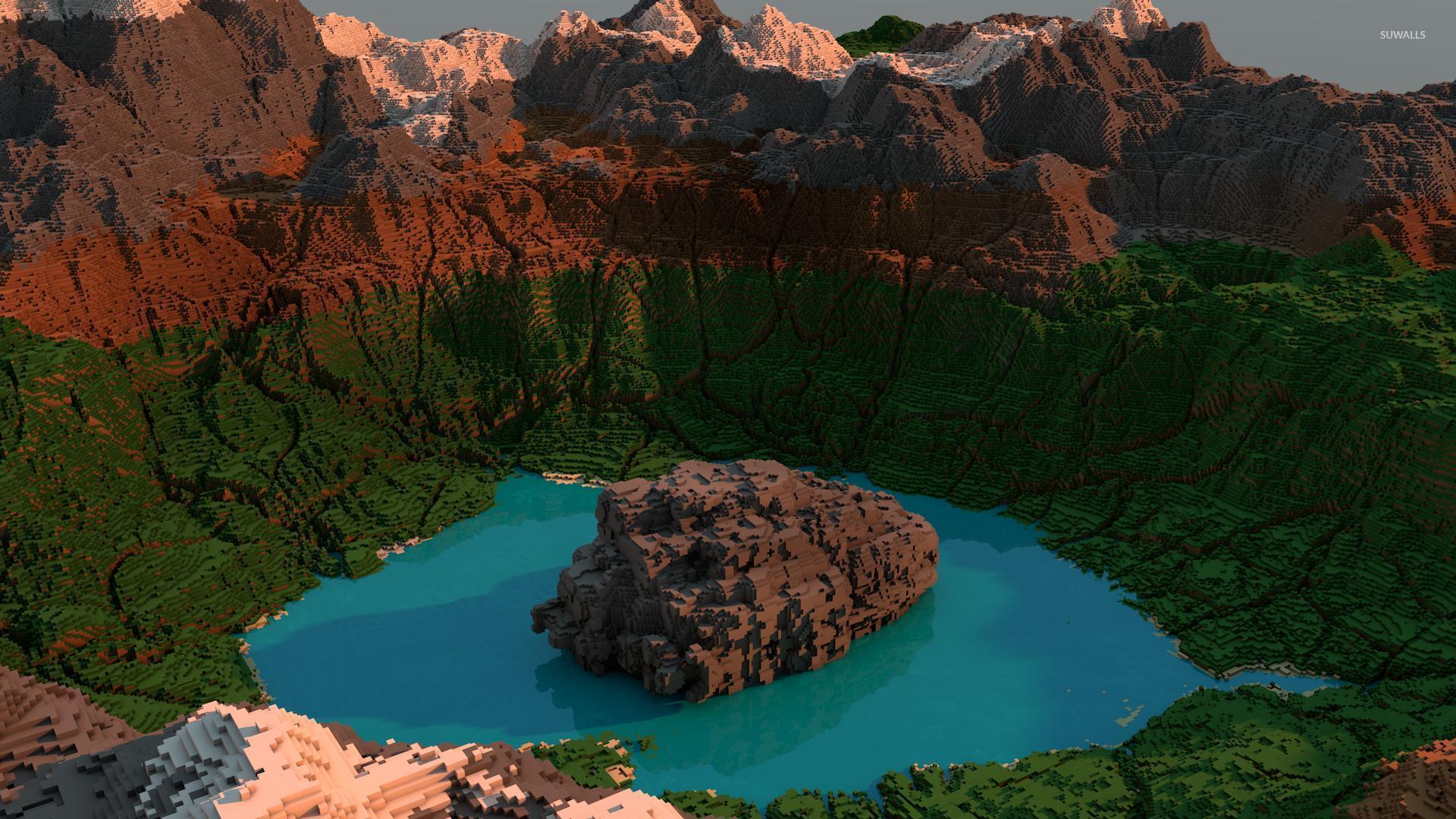 Minecraft Beautiful Garden beautiful garden in minecraft wallpaper - game wallpapers - #51670