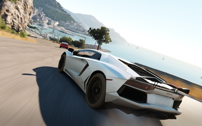 Lamborghini Aventador - Forza Horizon 2 wallpaper