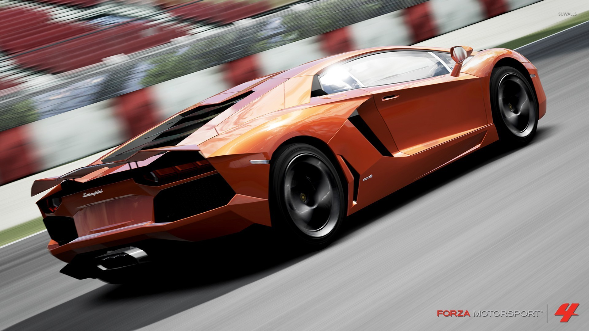 Lamborghini Aventador Forza Motorsport 4 Wallpaper Game