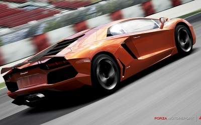Lamborghini Aventador - Forza Motorsport 4 wallpaper