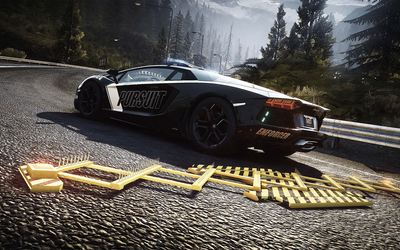 Lamborghini Aventador - Need for Speed: Rivals wallpaper