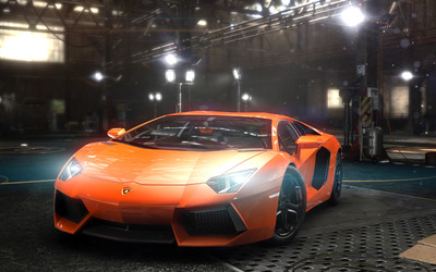 Lamborghini Aventador - The Crew wallpaper