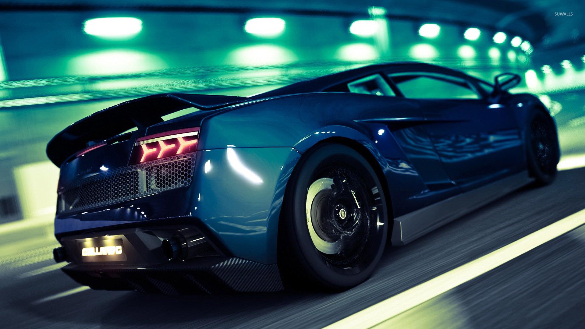 lamborghini gallardo gran turismo 5 wallpaper 1920x1080 jpg - Lamborghini Gallardo Superleggera Wallpaper