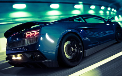 Lamborghini Gallardo - Gran Turismo 5 wallpaper