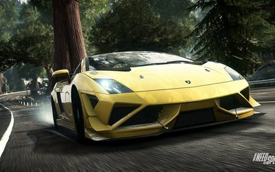 Lamborghini Gallardo - Need for Speed: Rivals wallpaper