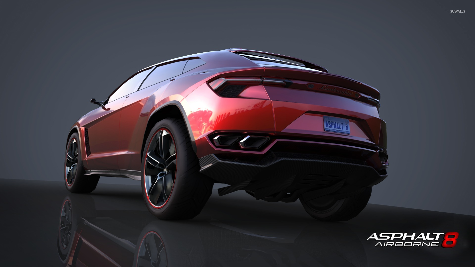 lamborghini urus - asphalt 8: airborne wallpaper - game wallpapers
