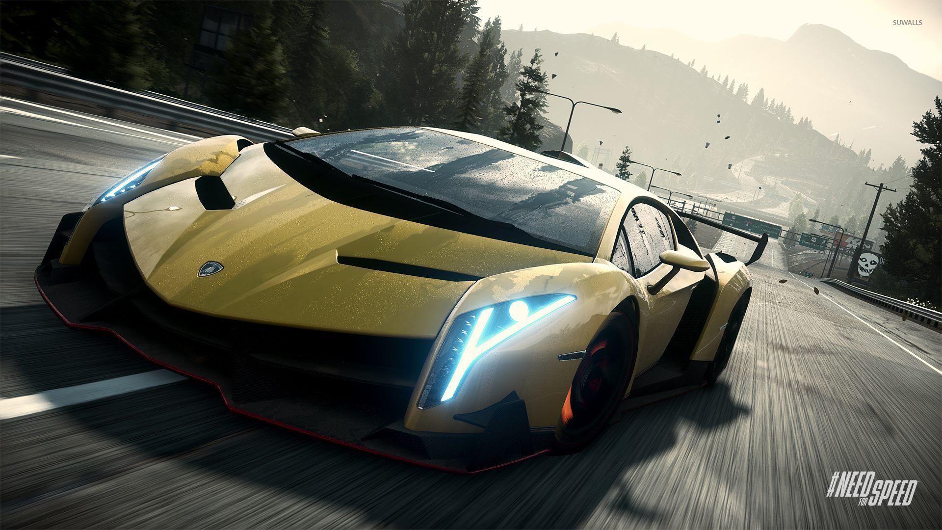 Lamborghini Veneno Need For Speed Rivals 2 Wallpaper